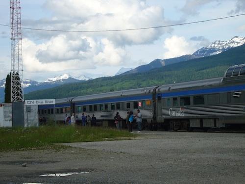 Canadian Rockies Train Travel